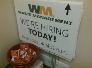 Waste Management Fond du Lac Job Fair